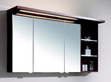 Puris Swing Spiegelschrank + Regal rechts 120 cm Serie A