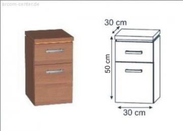 puris swing badschrank unterschrank. Black Bedroom Furniture Sets. Home Design Ideas