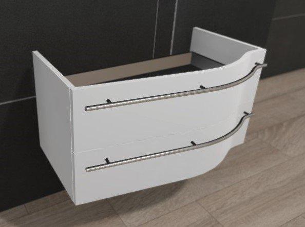 puris swing waschtischunterschrank 90 cm links. Black Bedroom Furniture Sets. Home Design Ideas