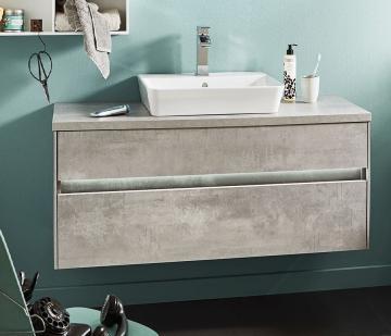 Puris Unique Badmöbel 102 cm | Waschtisch mit Unterschrank