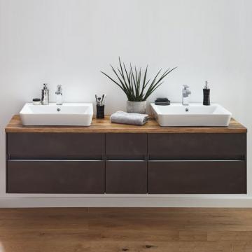 Puris Unique Badmöbel 172 cm | Waschtisch mit Unterschrank