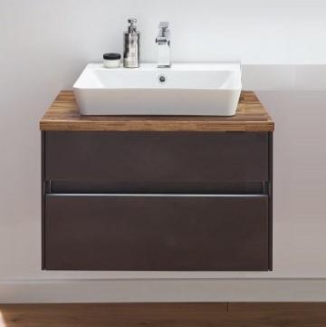 Puris Unique Badmöbel 72 cm | Waschtisch mit Unterschrank