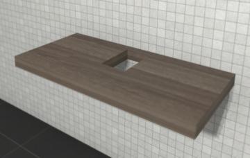 Puris Variado 2.0 | Waschtischplatte 100 cm