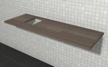 Puris Variado 2.0 | Waschtischplatte 170 cm Links