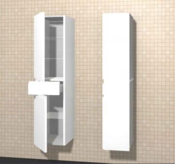 Puris Variado Hochschrank 2 Türen 1 Auszug | 40 cm