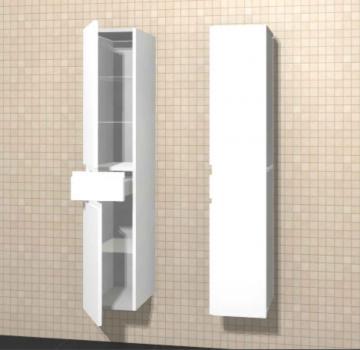 Puris Variado Hochschrank 2 Türen 1 Auszug | 30 cm
