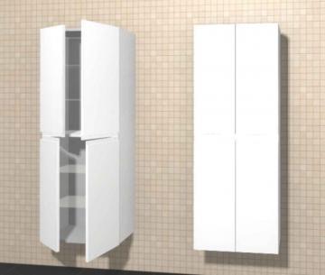 Puris Variado Hochschrank 4 Türen | 60 cm
