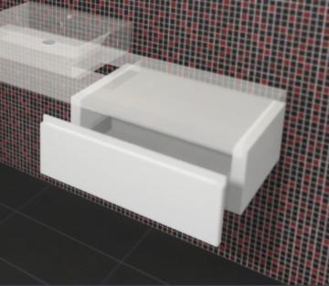 Puris Variado Plattenunterschrank | 1 Auszug 70 cm