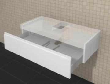 Puris Variado Waschtisch-Unterschrank | 1 Auszug 100 cm