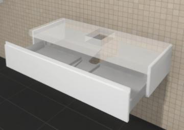 Puris Variado Waschtisch-Unterschrank | 1 Auszug 120 cm