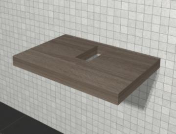 Puris Variado 2.0 Waschtischplatte | 70 cm