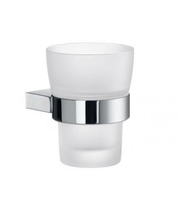 Smedbo AIR Zahnputzbecherhalter mit mattem Glas