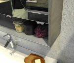 Pelipal Solitaire 6040 Badmöbel Set H Doppelwaschtisch 121 cm