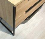 Puris Aspekt Badmöbel 130 cm   Set O Waschtisch Links