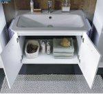 Badmöbel Marlin Bad 3020 - Life Set E 100 cm
