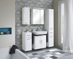 Badmöbel Pelipal Fokus 3005 Universal-Waschtischunterschrank + 2 Türen 60 cm