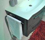 Badmöbel Pelipal Fokus 4005 Set D 90 cm | Lack Polarweiß Hochglanz