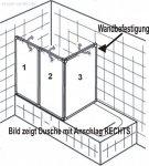HSK Badewannenaufsatz Prima Variante A + 3 Teile