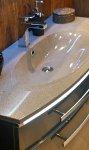 Marlin Bad 3100 - Scala Badmöbelset C 120 cm Spiegelschrank