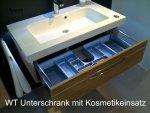Pelipal Balto Badmöbel 123 cm | Set C2 LEDplus | Mit Chromleiste