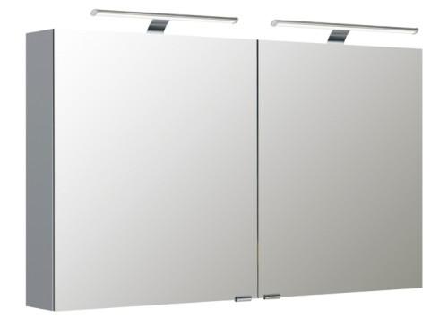 2 türiger Spiegelschrank 120 cm