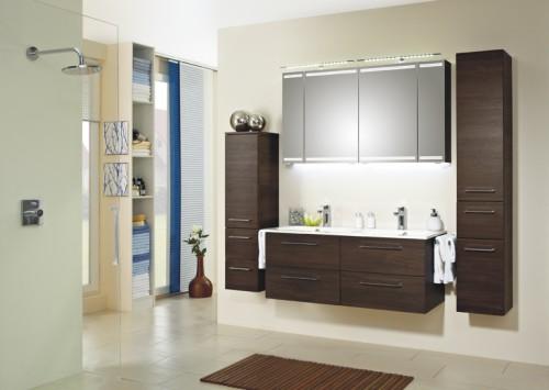 Doppelwaschbecken mit unterschrank holz  Doppelwaschtisch & Unterschrank | Jetzt passend - Arcom Center