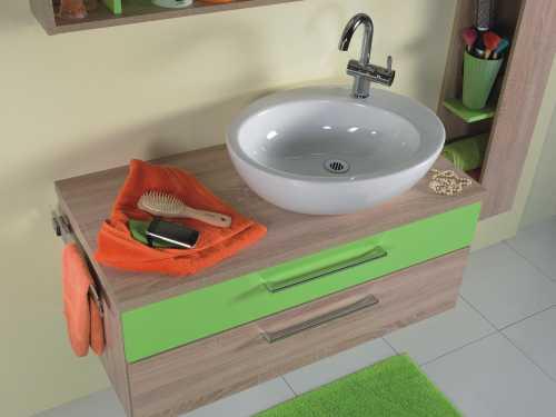 Waschtischplatte im Badmöbel Set