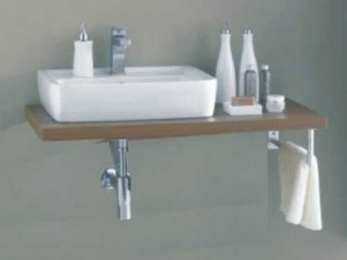 Waschtischplatte mit schublade gäste wc  Waschtischplatte & Konsole » Badmöbel jetzt Pur