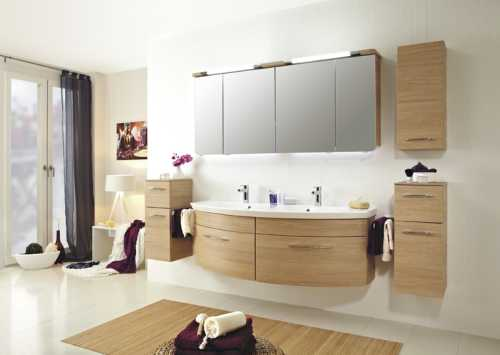 badezimmerm bel holz hell neuesten design. Black Bedroom Furniture Sets. Home Design Ideas