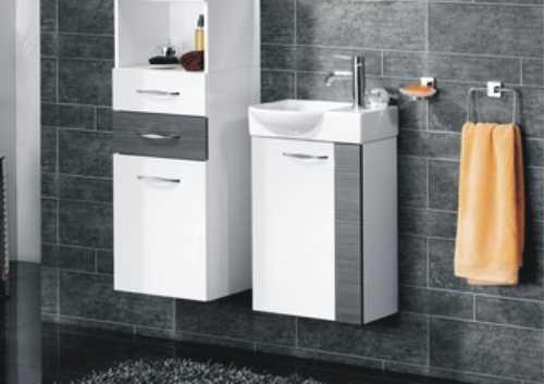 waschtischplatte mit schublade g ste wc. Black Bedroom Furniture Sets. Home Design Ideas